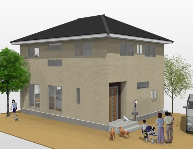 完成間近見学会と構造工事見学会のお知らせ