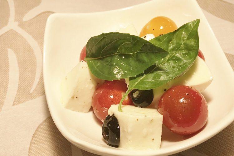 【まとめて作り置きレシピ】トマトのカプレーゼ