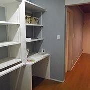 寝室には夫婦二人分の衣類や荷物をしっかり仕舞える収納を確保しました。