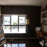 パパの隠れ家に、家族の図書室に、またセカンドリビングにと多彩な使い方が可能な+αのスペース。