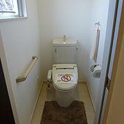 2階にもお手洗をお付けしています。