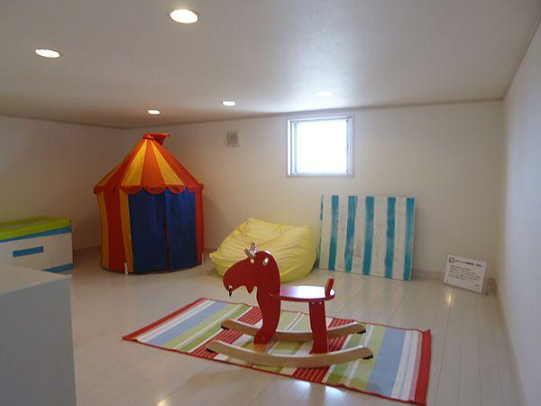 5.4帖の子供部屋は、お子様の個室にピッタリサイズ。