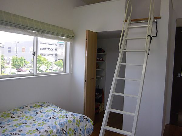 高い天井とロフト。お子様が健やかに成長してもらえるお部屋です。