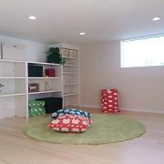 お子さまの遊び場としても、収納空間としても。お片付けの習慣がしっかりと身に付きます。