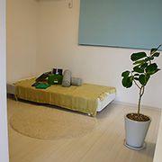 個室部屋ではなくお子様の成長に合わせられるようセミオープンにしました。