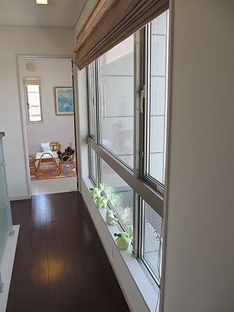 エコ「すごく明るーい」ピョン吉「ホールに大きな窓があるから家中明るくなるよ」