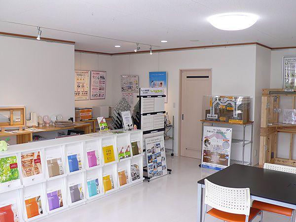 ユニバーサルホームのヒミツ!を見て、感じていただけるような展示スペース&地熱床システムで快適空間となっております