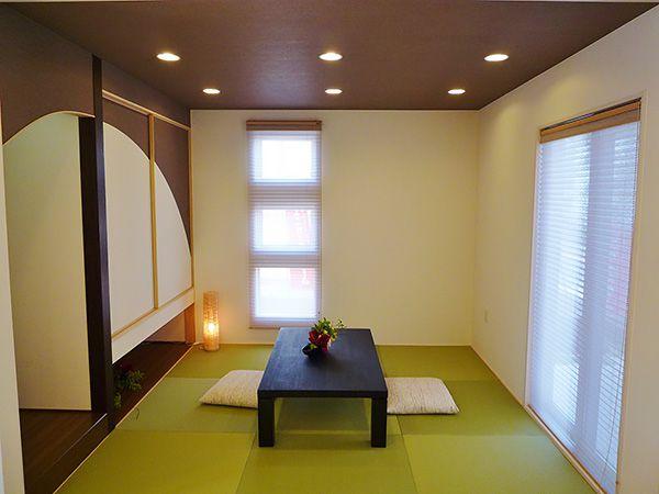 いろいろな使い方ができる和室。日常空間としての利用から客間としてお客様をもてなしたり、多目的に活用できます。