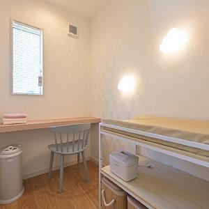 おむつ等のアメニティ・授乳スペース・おむつ替えルームもありますので安心してご見学して頂けます。