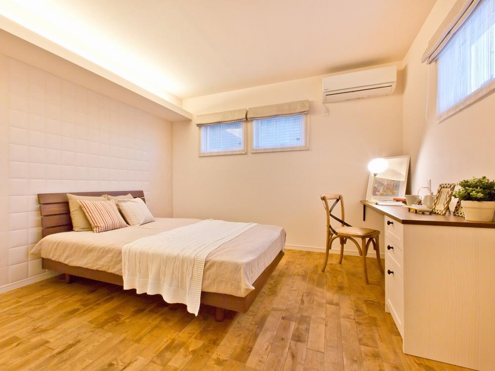 夫婦の安らぎを作る寝室
