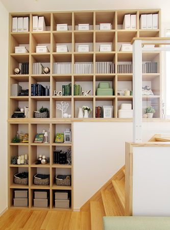 KIDUKI×収納。本を置いたり、写真を飾ったり、見せる収納としても活躍しそうですね。