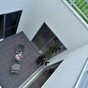 モデルハウス一番の特徴!家の中心に設けられたプライベート空間。どこにいても家族の気配を感じながら過ごせる