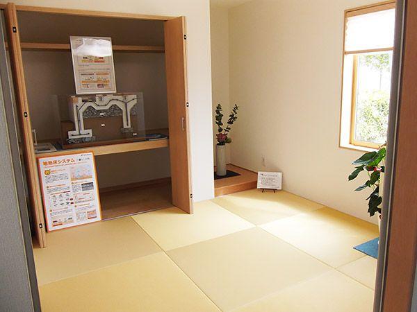 おもてなしの客間としても多彩に使える和空間です。