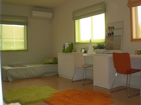 脱個室化でオープンな子供部屋。子供部屋は「こもる部屋」にしないことが大切です。オープンな間取りなら、家族のコミュニケーションもしっかりとれます。