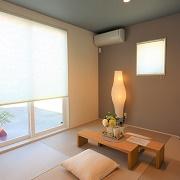 開放的に利用できる和室。家事をしたりお昼寝スペースとしてなどフレキシブルに使える畳空間。