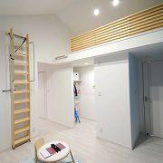 ロフト付きの子供部屋。階段を上ればボクだけの秘密基地!