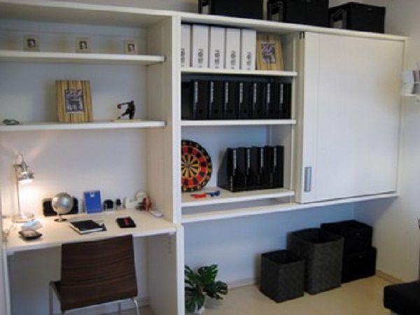 子ども部屋には大容量の収納を備え付け、小物や洋服で散らかりがちな部屋もすっきり片付け