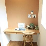 日常の家事や作業にぴったりなコーナーをキッチンのすぐそばに設けました