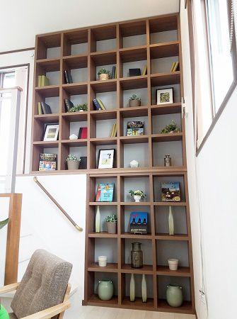 壁一面を利用した「創造力」を育てる収納