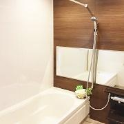 浴室乾燥で雨の日でも洗濯干せます!