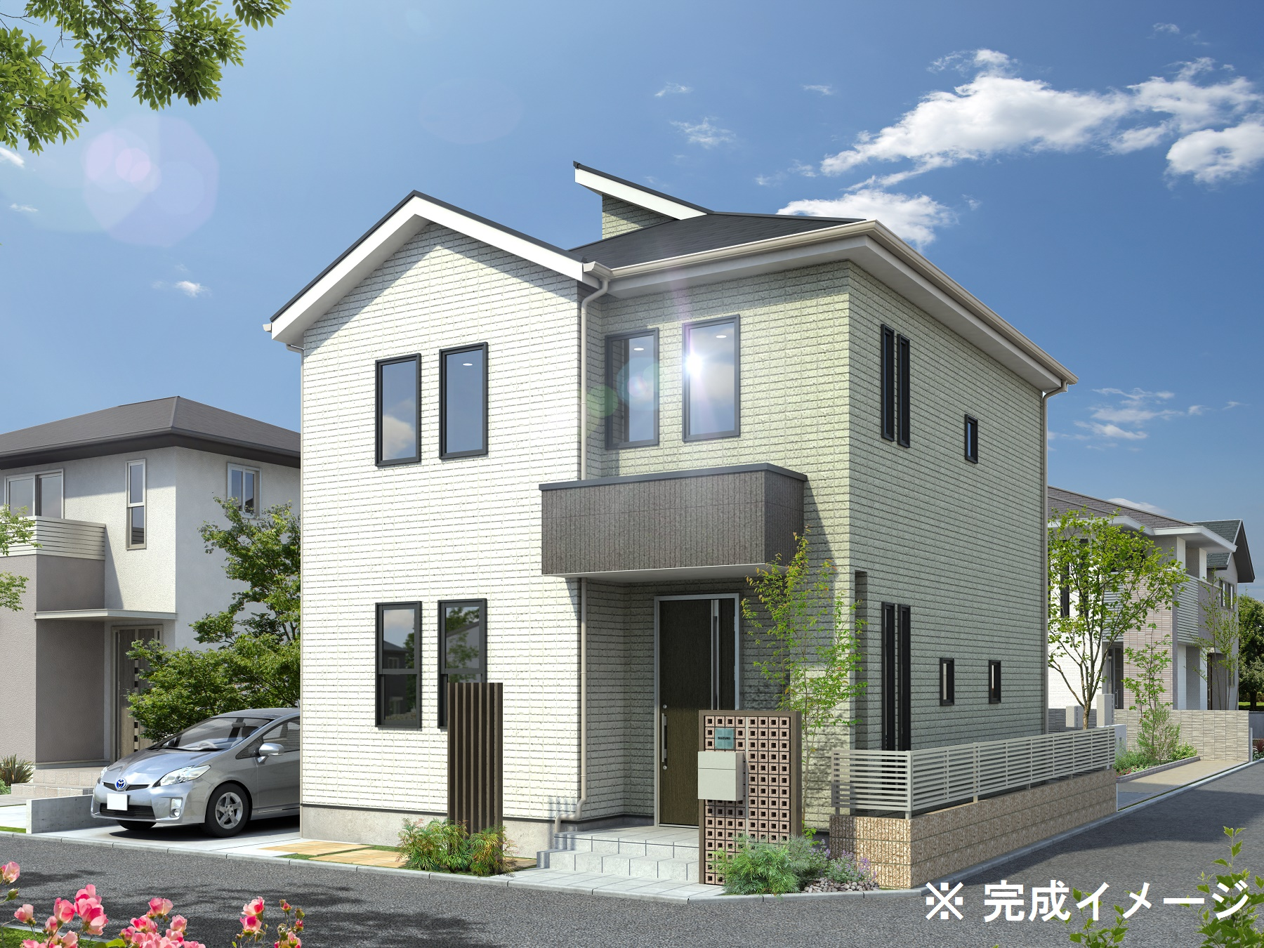 モデルハウス(住宅展示場)武蔵野店(小金井東街かどモデルハウス)