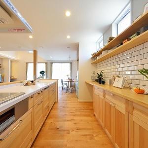 見晴らし良いキッチン