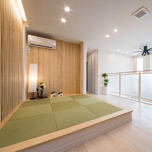 2階にあるフリースペースにほっこり出来る畳コーナーを用意。