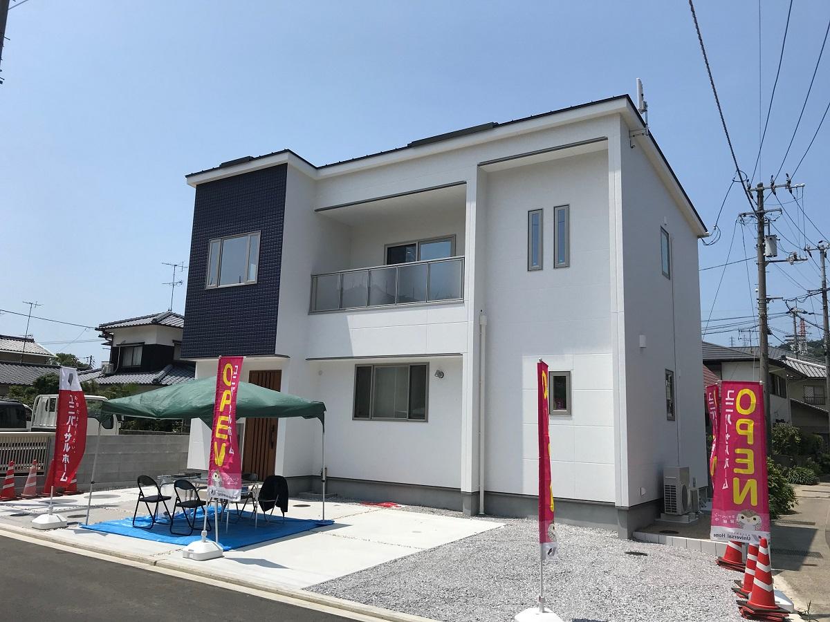 モデルハウス(住宅展示場)松山東店(別府町街かどモデルハウス)