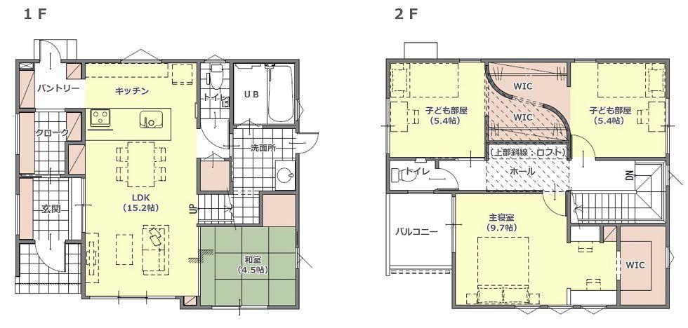 モデルハウス(住宅展示場)静岡南店の間取り