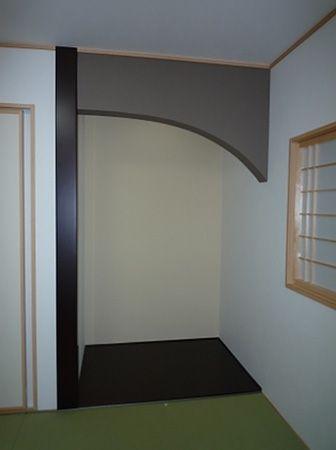 和室は床の間、襖に障子戸と純和風仕上げで、落ち着いた空間になっています。