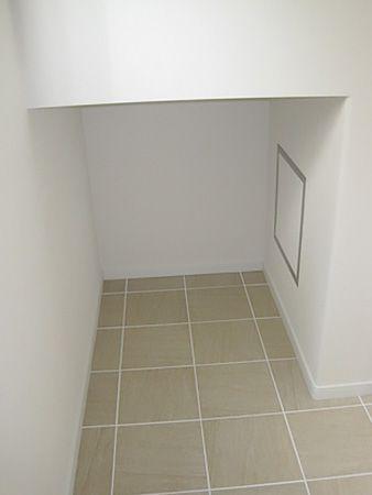 階段下スペースを有効活用し、収納力満載です!
