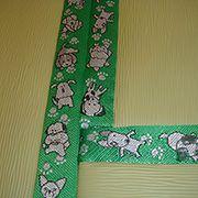 ペットの事を考えた和室ならではのこだわりです。畳縁の刺繍が、とってもかわいいです♪