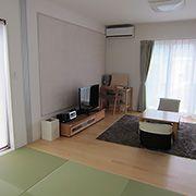 隣通しにあるリビングと和室は、普段は間仕切りをしないことによって広々とした生活を送ることが出来ます。