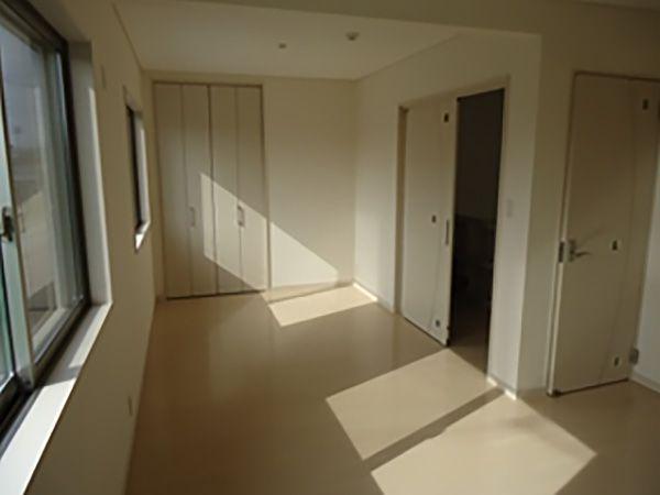 子ども部屋は広い空間にしており、将来区切るというご計画です。