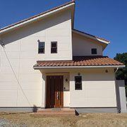 ♪しまね木の家、長期優良住宅♪色使いもおしゃれな南欧風の家