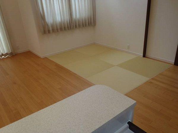 畳コーナーがあれば、ちょっとした休憩にも便利。