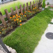 ご主人お手製のお庭。さらにこれから少しずつバージョンアップしていくそうで、いろいろな計画を聞かせて頂きました。