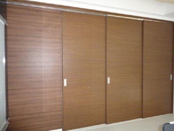 和室の扉は3枚なので、開口も広いですね。