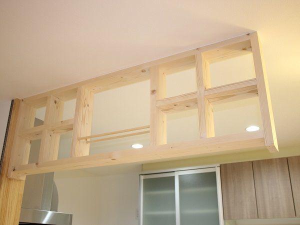 余った木材でおしゃれで便利な棚を作成しました。