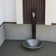こだわりの外水栓です。