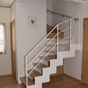 こだわりのデザイン階段