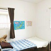 末っ子のご長男にもクローゼット付きのお部屋が出来ました。嬉しい反面、寂しいときもあるようです。