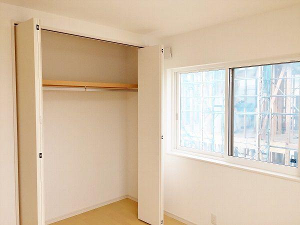 子供部屋は2部屋。最初から区切ってあります。