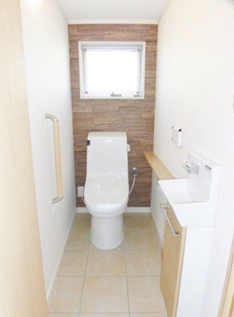 広くて、冬は暖かいので、子どものトイレトレーニングも苦になりません!