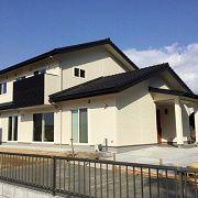 3世代家族が住む和モダンの家【長期優良住宅・ゼロエネルギー住宅・しまねの木の家】