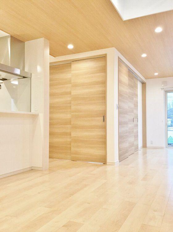 和室はもちろん扉を閉めて空間を仕切ることができます。