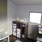 三階に作られた一室にはパパが自由にできる趣味のお部屋を作りました。