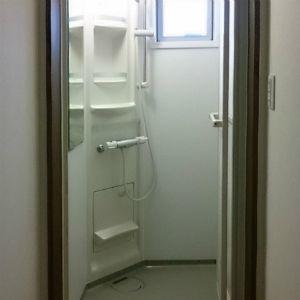 2階スペースには、シャワールームを設置しました。ゆっくりできる至福のスペースだそうです。