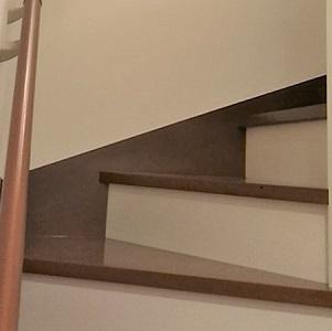 上りやすい省スペースな階段
