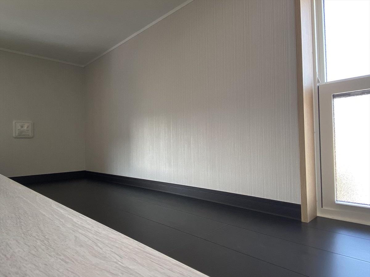 ミニロフト。2つの子ども部屋は同じ仕様で作りました。